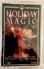 HOLIDAY MAGIC: CLASSIC CHRISTMAS MUSIC FROM THE 1970s! VINTAGE CASSETTE! RARE!