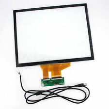 15 inch Projected Capacitive Touch Screen Panel 10 Points+USB Controller Win 7,8