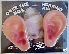 KALAN Over the Hill Hearing Aid~~GIANT Ears~~Gag Birthday Gift~~50th~60th~70th