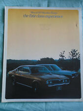 Mazda 929 Hardtop Sedan brochure 1973