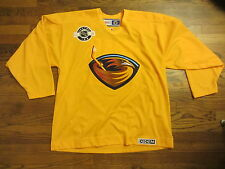Vintage NHL Atlanta Thrashers CCM Bud Light Party Zone Jersey Mens (XL)