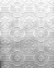 Dollhouse Ceiling Wallpaper 2 Floral Designs – 2 Shts!  DBJ-13