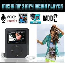 "16GB MP5 MP4 MP3 reproductor de video de medios de música Slim 1.8"" LCD FM-Radio Grabadora Juegos"