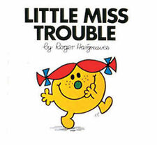 NEW (6)  LITTLE MISS TROUBLE ( BUY 5 GET 1 FREE book )  Mr Men