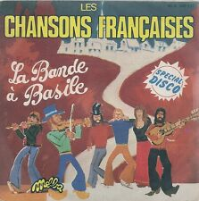 "45 TOURS / 7"" SINGLE--LA BANDE A BASILE--LES CHANSONS FRANCAISES--1976"