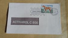 Enveloppe 1er jour Monaco FDC - Cheval de Selle français - 15/12/1970