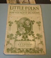 April 1904 Little Folks Illustrated Monthly Magazine The Greedy Little Dog