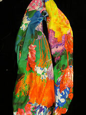 NWT CHRISTIAN LACROIX 100% SILK  SCARF/SHAWL 70x180cm MADE IN ITALY