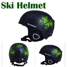 Moon Ski Helmet Adult Mens Womens Roller Skate Board Cycle Helmet Cap Adjustable