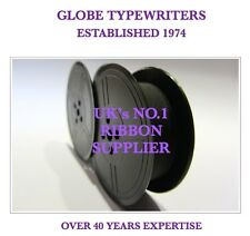 1 x 'UNDERWOOD 6' *PURPLE* TOP QUALITY *10M* TYPEWRITER RIBBON TWIN SPOOL *R/W*