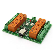 USB 8 Channel Relay Board - Automation, Robotics - 24V
