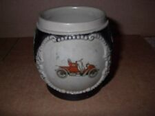 OLD CAR GERMAN BEER STEIN! LOOK HERE FOR RARE STEINS & MUGS! CHEAP!!
