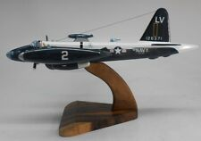 P2V-5 Neptune Maritime Patrol USN Navy Airplane Wood Model Small New