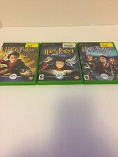 Harry Potter Chamber Of Secrets -Sorcerer's Stone -Prisoner Of Azkaban Xbox Lot