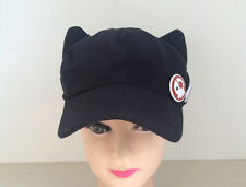 EVA Asuka Langley Soryu Cat Ear Cosplay Hat Peaked Cap with Badges Casquette