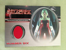 Battlestar Galactica Premiere Costume Card CC1 Number Six