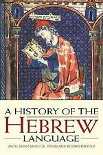 A History of the Hebrew Language by Sáenz-Badillos, Angel