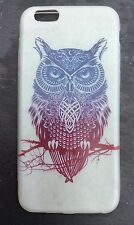 iPhone 6 6s Mobile Phone Soft Silicon Gel Case Cartoon Owl Cute Protective Xmas