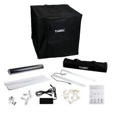 TUIREL Mini Kit LED Photo Studio Box Light Photo Box Lighting Desktop Softbox