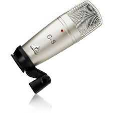 Behringer C-3 Dual-Diaphragm Studio Condenser Vocal Instrument Guitar Microphone