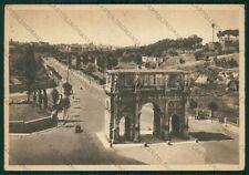 Roma Città Arco di Costantino FG cartolina VK2267