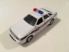 Ford Taurus SHO Police DWI Enforcement Used Diecast White Model Car 1:43 Loose