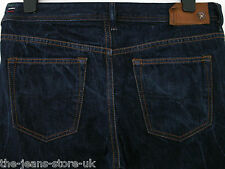 DIESEL BUSTER REGULAR SLIM-TAPERED FIT JEANS SELVEDGE 0608N W34 L30 (3118)