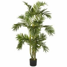 Nearly Natural 5336 Areca Palm Silk Tree- 4-Feet- Green NEW