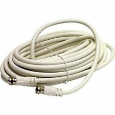 Steren -Bl-215-400Wh Coaxial Patch Cable-100 Ft-Female-Female Network - Imported