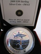 Canada 2008 $30 Sterling Silver coin - IMAX