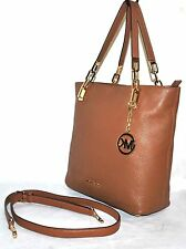 Michael by Michael Kors Brooke Medium Tote, LUGGAGE - Pre-owned (See Condition)