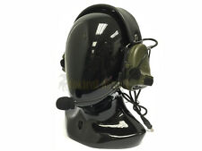 TCA Peltor Type COMTAC III Single Com Headset OD (tri tea 3M ptt sordin aor1)