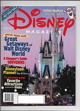 Disney Magazine Spring 2000 Tigger Disney World Disneyland Planner Map & Chart
