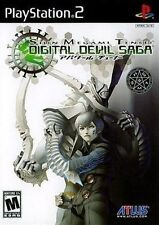 PLAYSTATION 2 PS2 GAME SHIN MEGAMI TENSEI: DIGITAL DEVIL SAGA NEW & SEALED