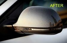 REAL CARBON FIBER MIRROR COVERS for AUDI A4 S4 B8 A5 S5 8T 2008-2009 1pair