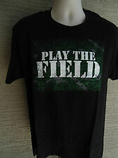 NEW MENS CHAMPION GRAPHIC  S/S CREW NECK TEE SHIRT PLAY THE FIELD XL
