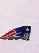 "New England PATRIOTS Patch, 2.5"" logo- NEW, Iron On- FREE Shipping USA"