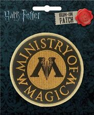 Harry Potter Ministry Of Magic Embroidered Patch Officially Licensed