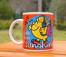 Little Miss Sunshine Watermelon Coffee Mug 1998 Mrs. Roger Hargreaves Mr. Men