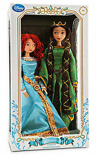 "Disney 17"" Merida and Queen Elenor Limited Edition Dolls from BRAVE LE Doll"