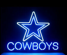 Dallas Cowboys Football Neon Light Sign 17''x14'' S35s ship from USA
