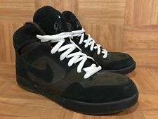 RARE�� Nike Paul Rodriguez 2 II Zoom Air High Black Cappuccino Sz 11 325022-201