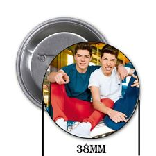 Los Gemeliers - Chapa, pin, badge, button, A
