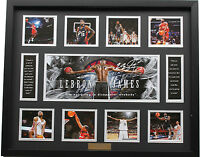 New LeBron James Signed Cleveland Cavaliers Limited Edition Memorabilia