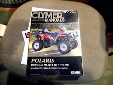 CLYMER MANUAL M365-5 POLARIS SPORTSMAN 400 450 500 1996-2013