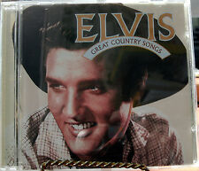 GREAT COUNTRY SONGS - ELVIS 1996 RCA/BMG INCLD UNRELEAS
