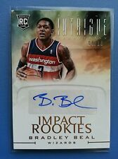 "BRADLEY BEAL 2012-13 PANINI INTRIGUE RC IMPACT ROOKIE GOLD AUTO #4/10 RARE!""WOW"""