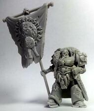 Space Viking Tyr. Wolf Lords of Asgard. Standard Bearer. True scale marine.