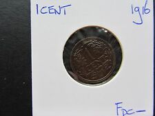 1 cent 1916 fdc-