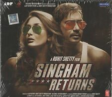 SINGHAM RETURNS - BRAND NEW BOLLYWOOD SOUNDTRACK CD - FREE UK POST